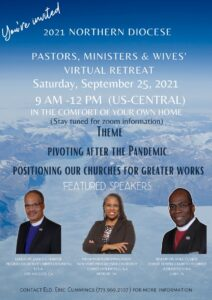 2021 Pastors. Ministers. and Wives Virtual Retreat